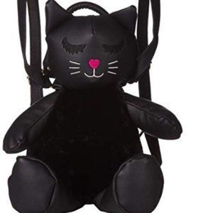 LUV BETSEY by Betsey Johnson Cat Backpack NWT